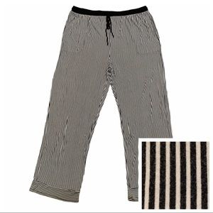 DKNY Lounge Striped Bottoms Pants Size 3X